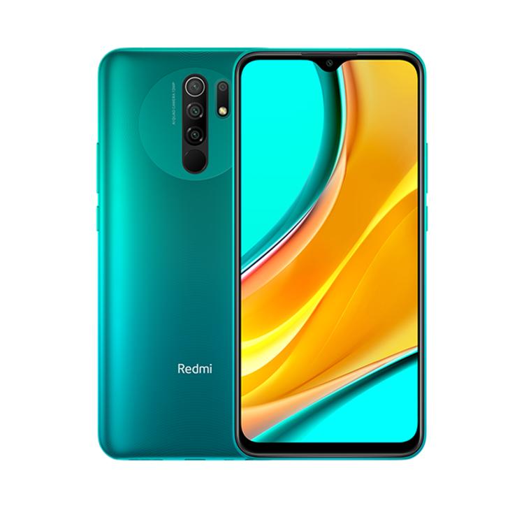 Slika pametnog telefona Redmi 9 zelene boje